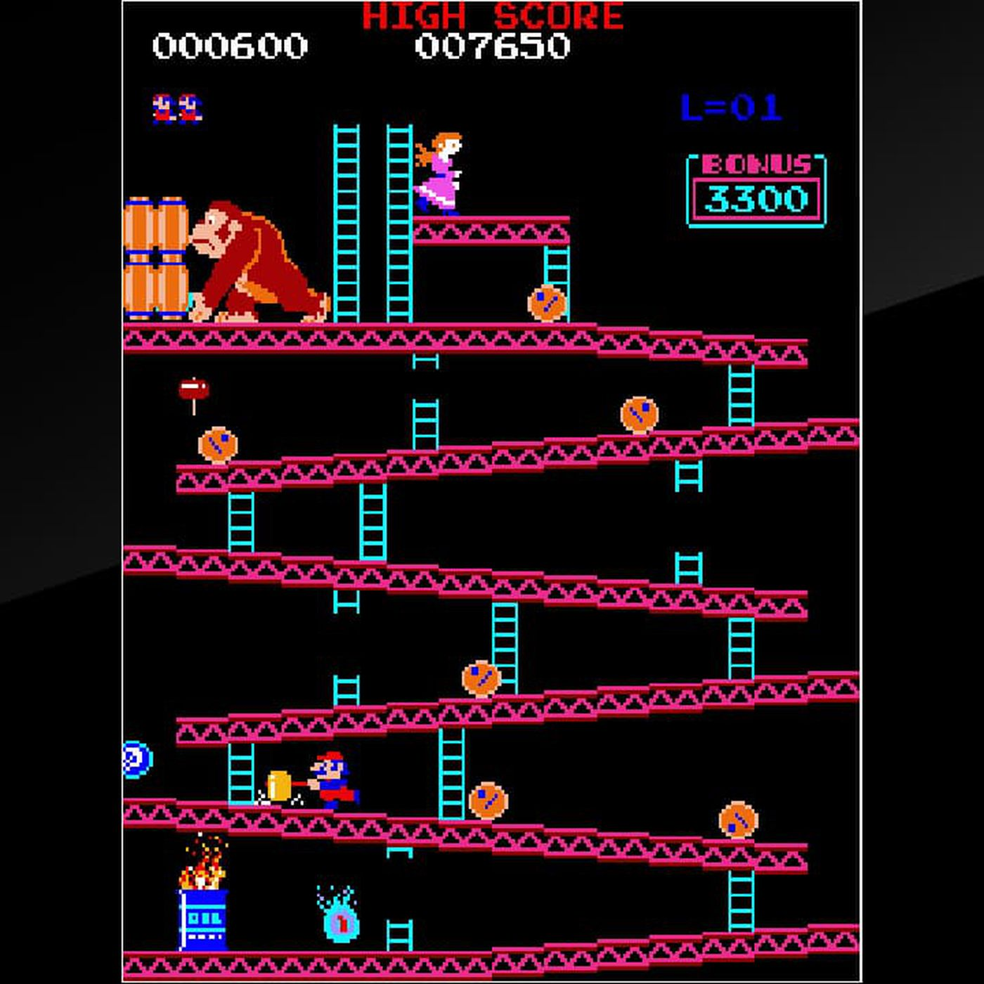 Arcade Donkey Kong re-released for first time on Nintendo