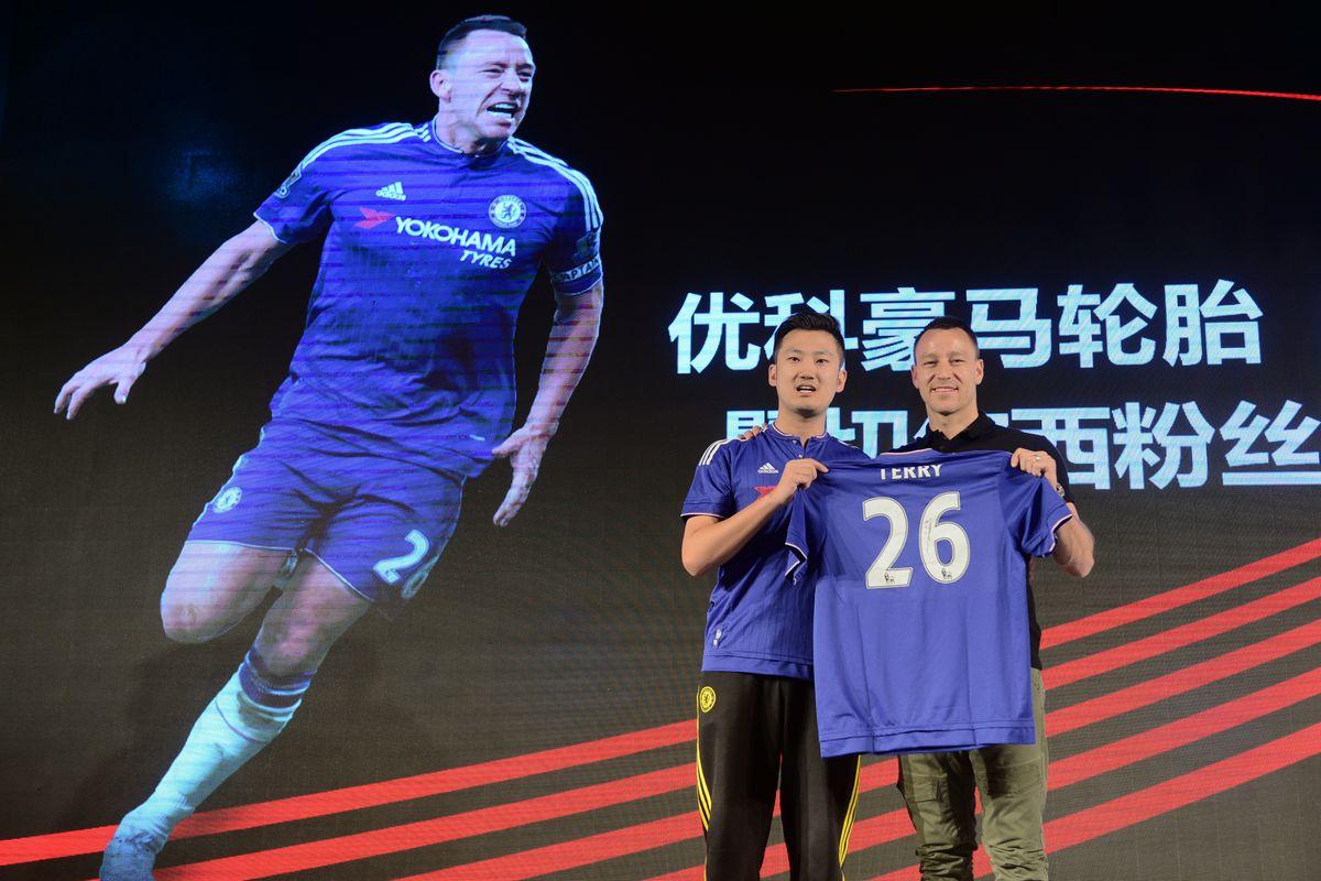 John Terry Visits China