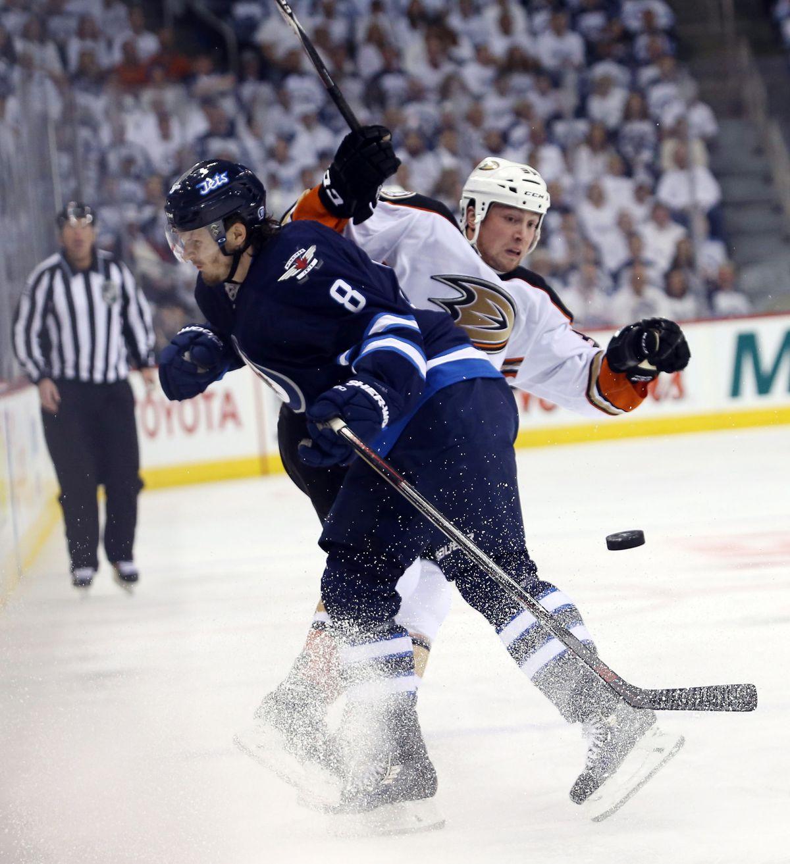 NHL: Stanley Cup Playoffs-Anaheim Ducks at Winnipeg Jets