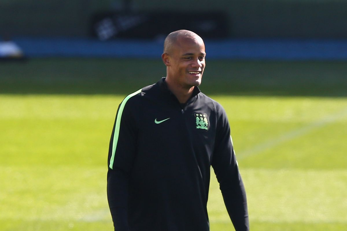 Manchester City Training Session and Press Conference