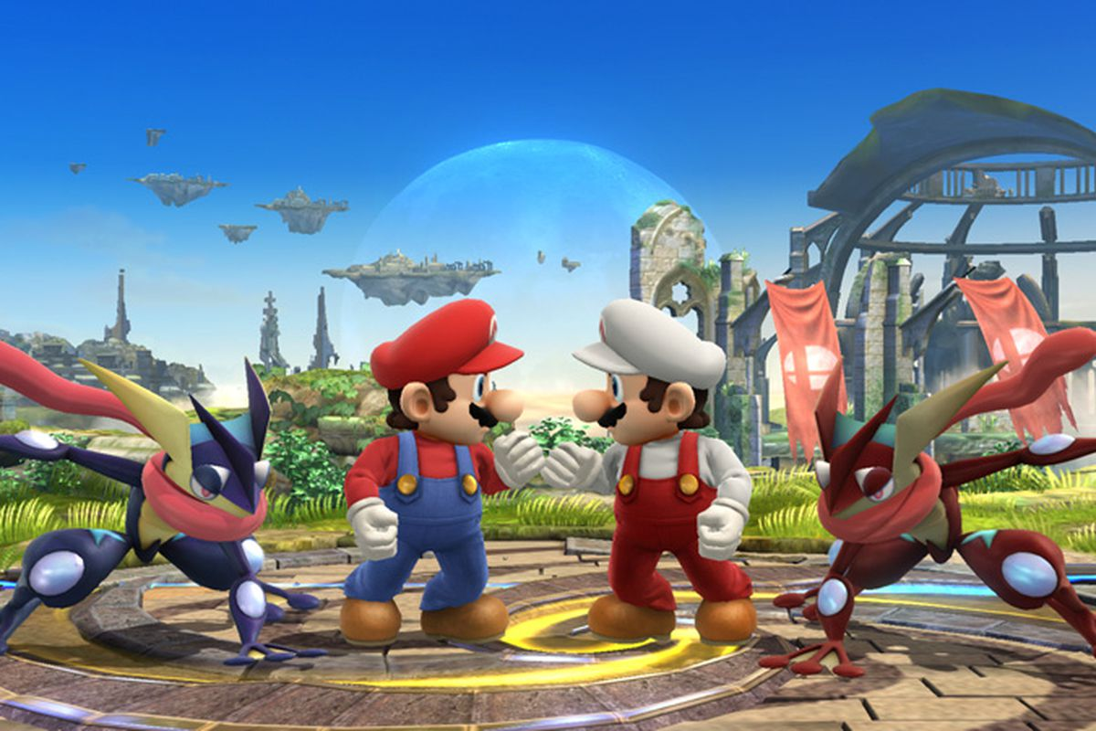you can start pre loading super smash bros for wii u right now