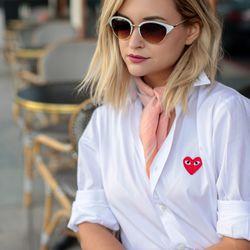 LA blogger Liz Cherkasova picks pastel.