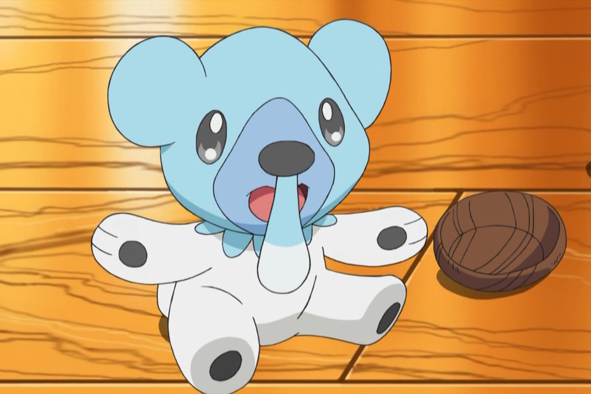 A Cubchoo happily opens his arms for a hug