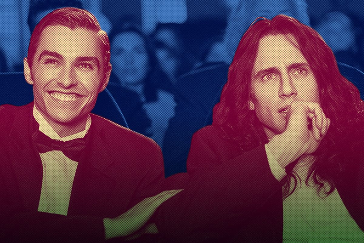Dave and James Franco in 'The Disaster Artist'