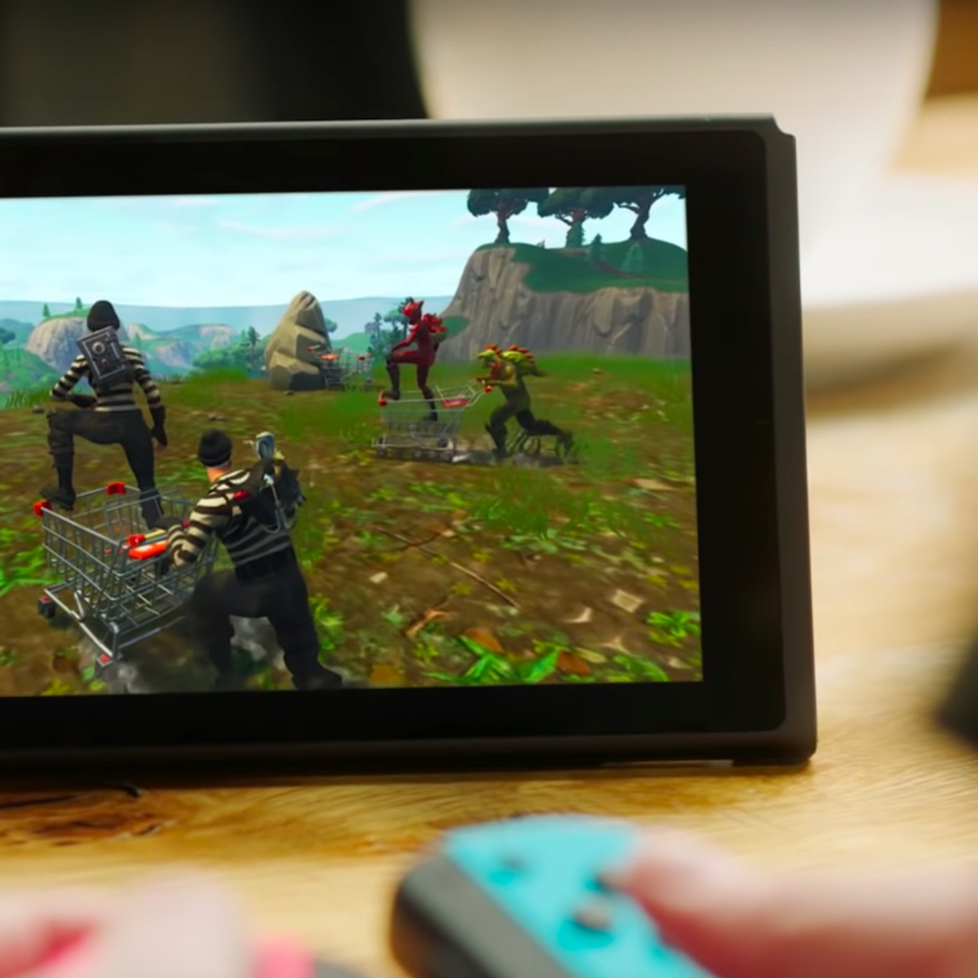 Fortnite on the Nintendo Switch hands-on - Polygon