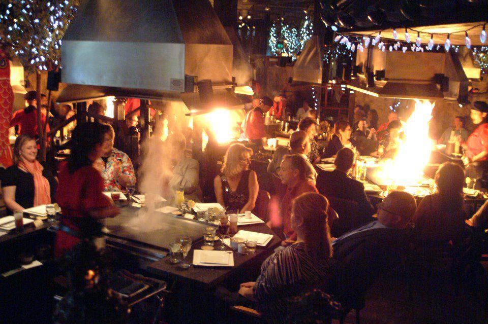 Inside the lively dining room. Photo courtesy Ichiban