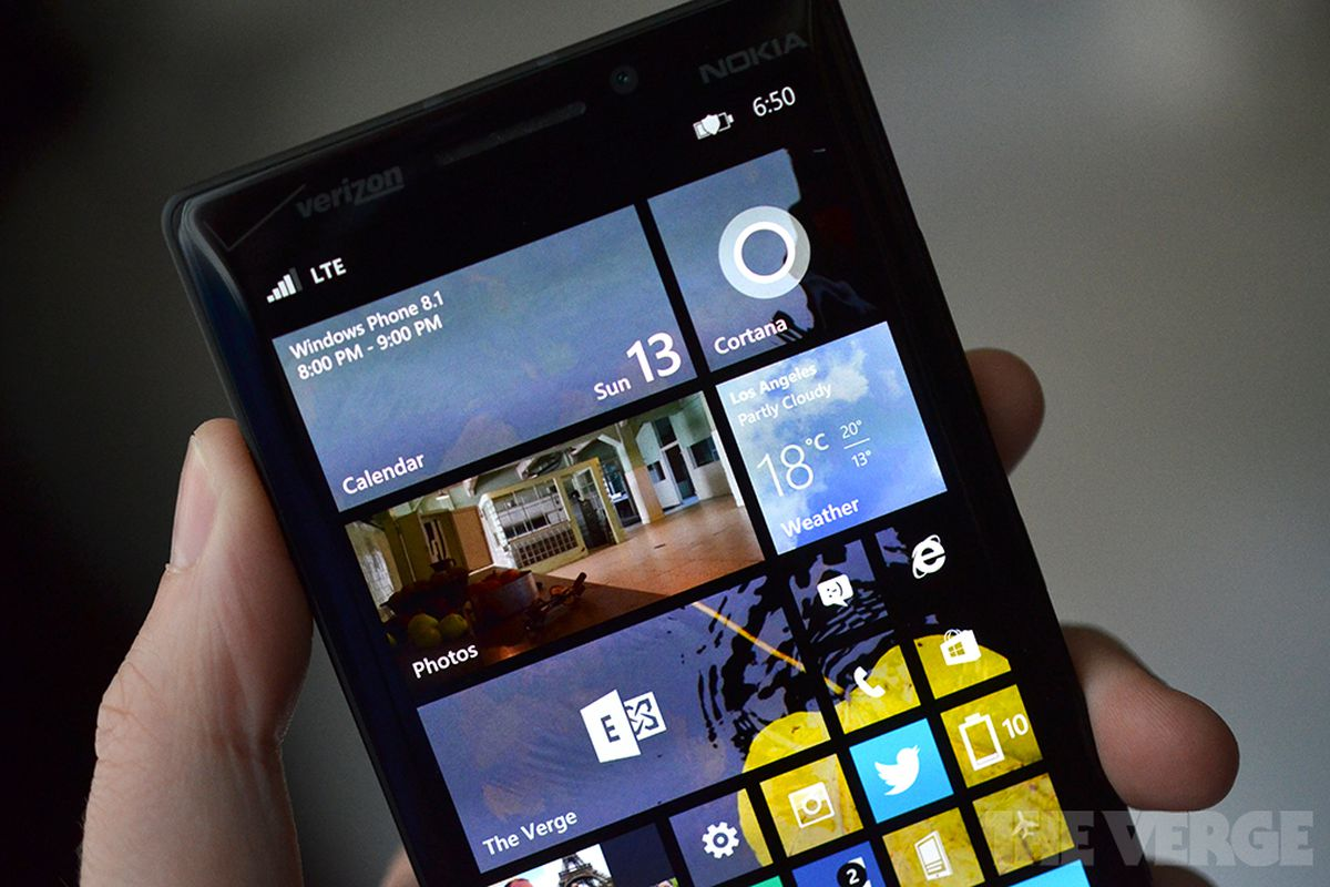 Windows Phone 8 1 now available to download - The Verge