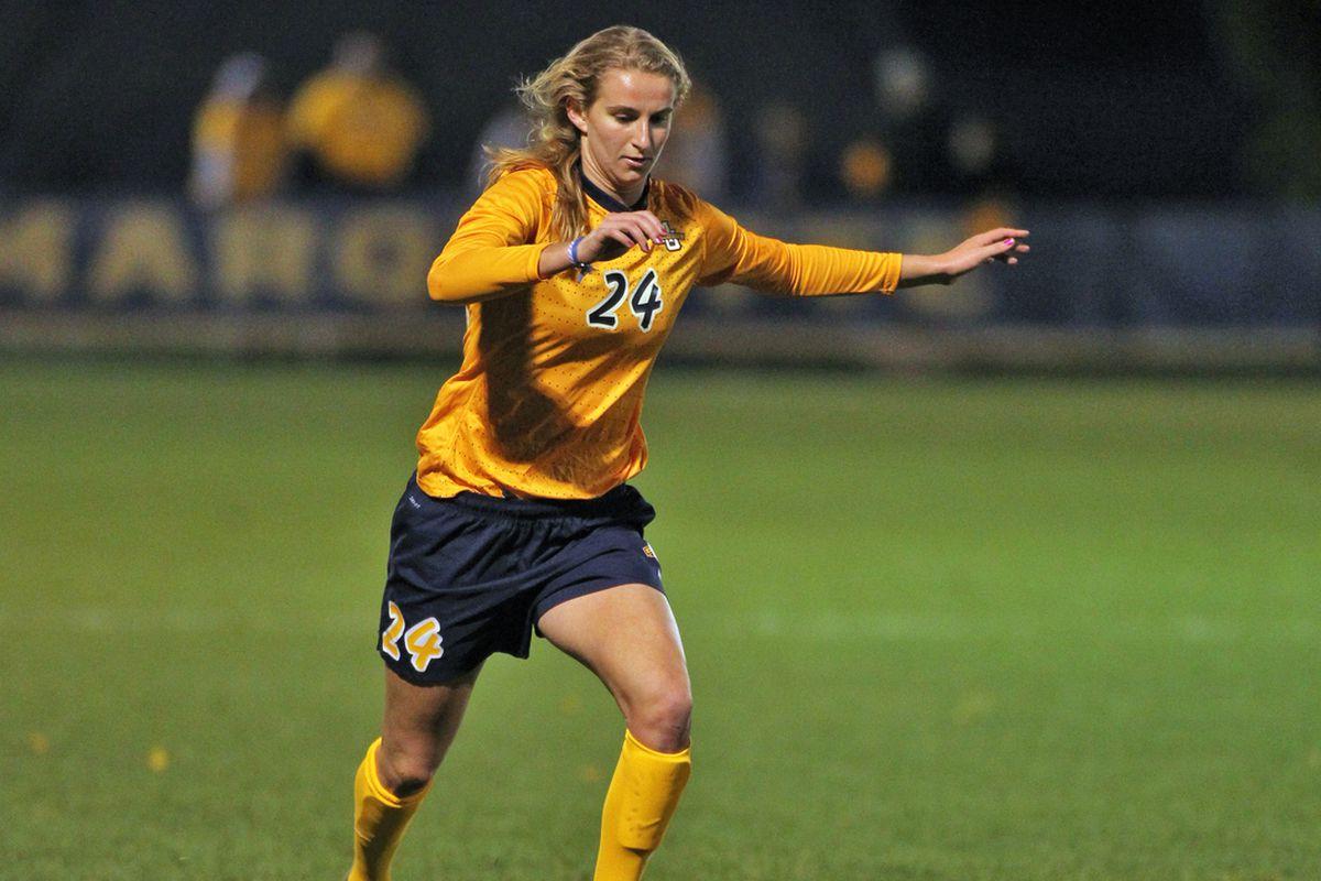 Senior midfielder Mary Luba scored MU's lone goal on a second half penalty kick.