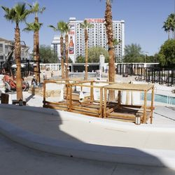 The former Nikki Beach cabanas are being renovated to accomodate 10.