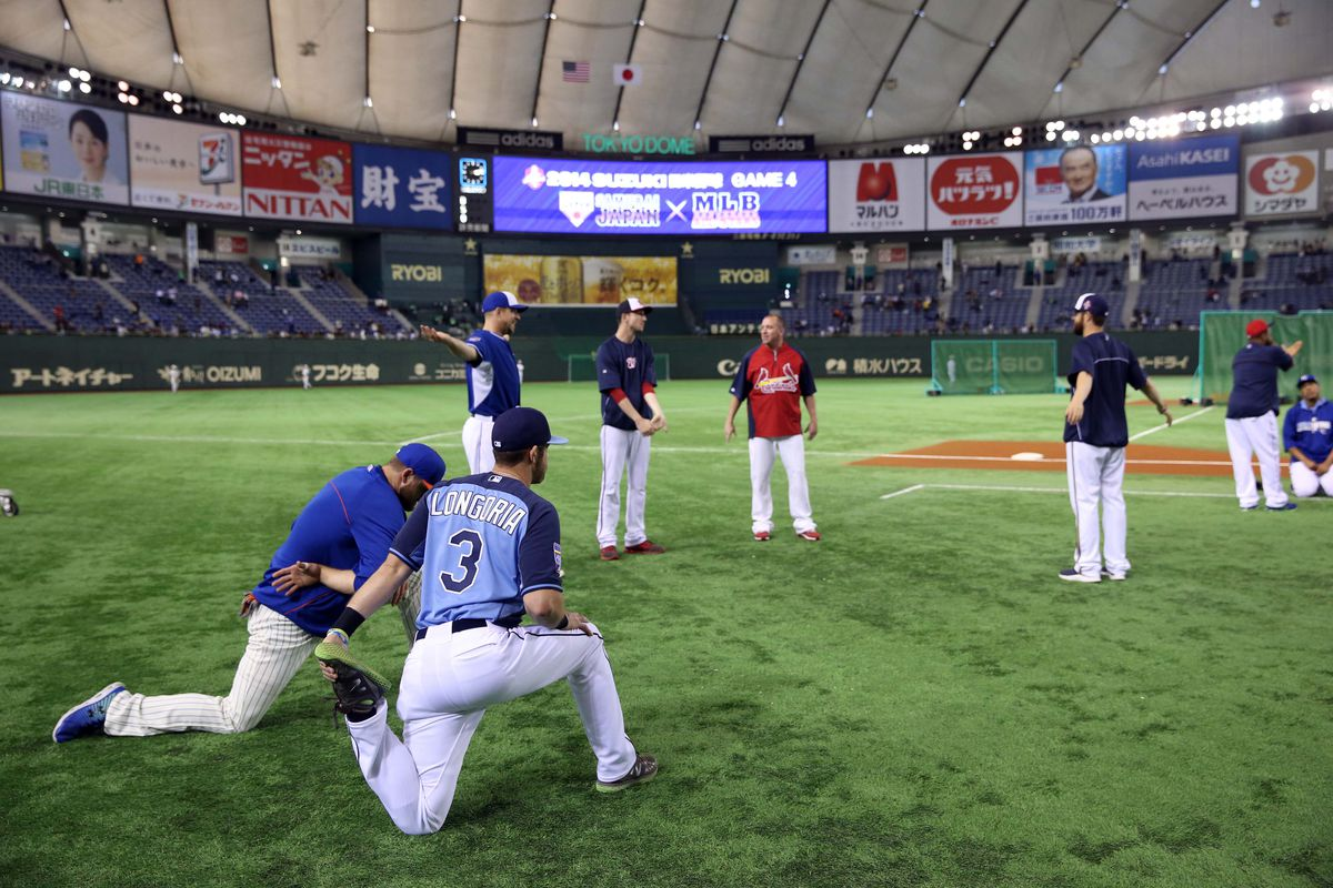 The Tokyo Dome, which hosted the MLB all-stars in their recent trip to Japan, will host the finals of the 2015 Premier 12 tournament.