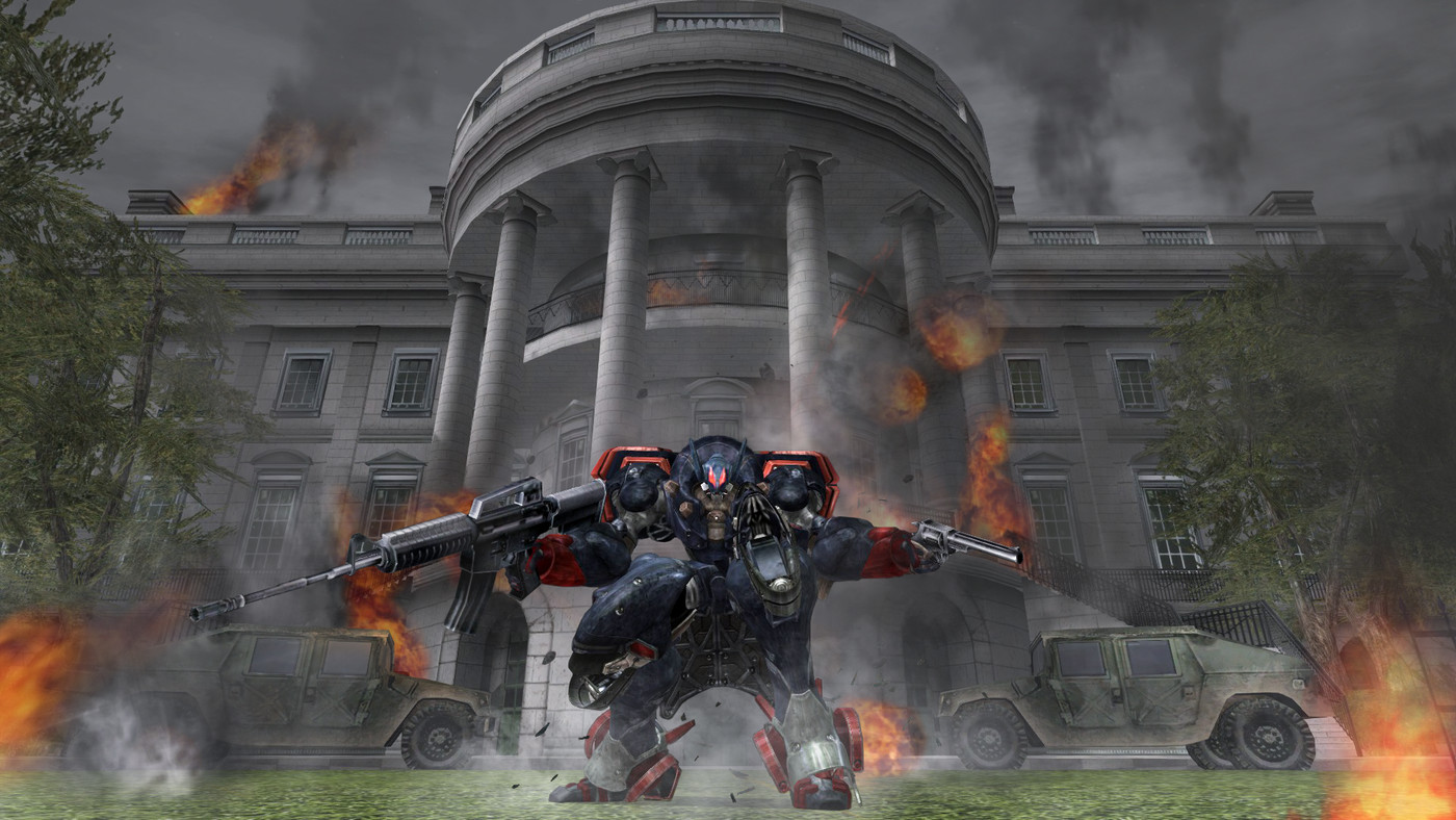 Metal Wolf Chaos XD review: the president is a mech pilot - The Verge