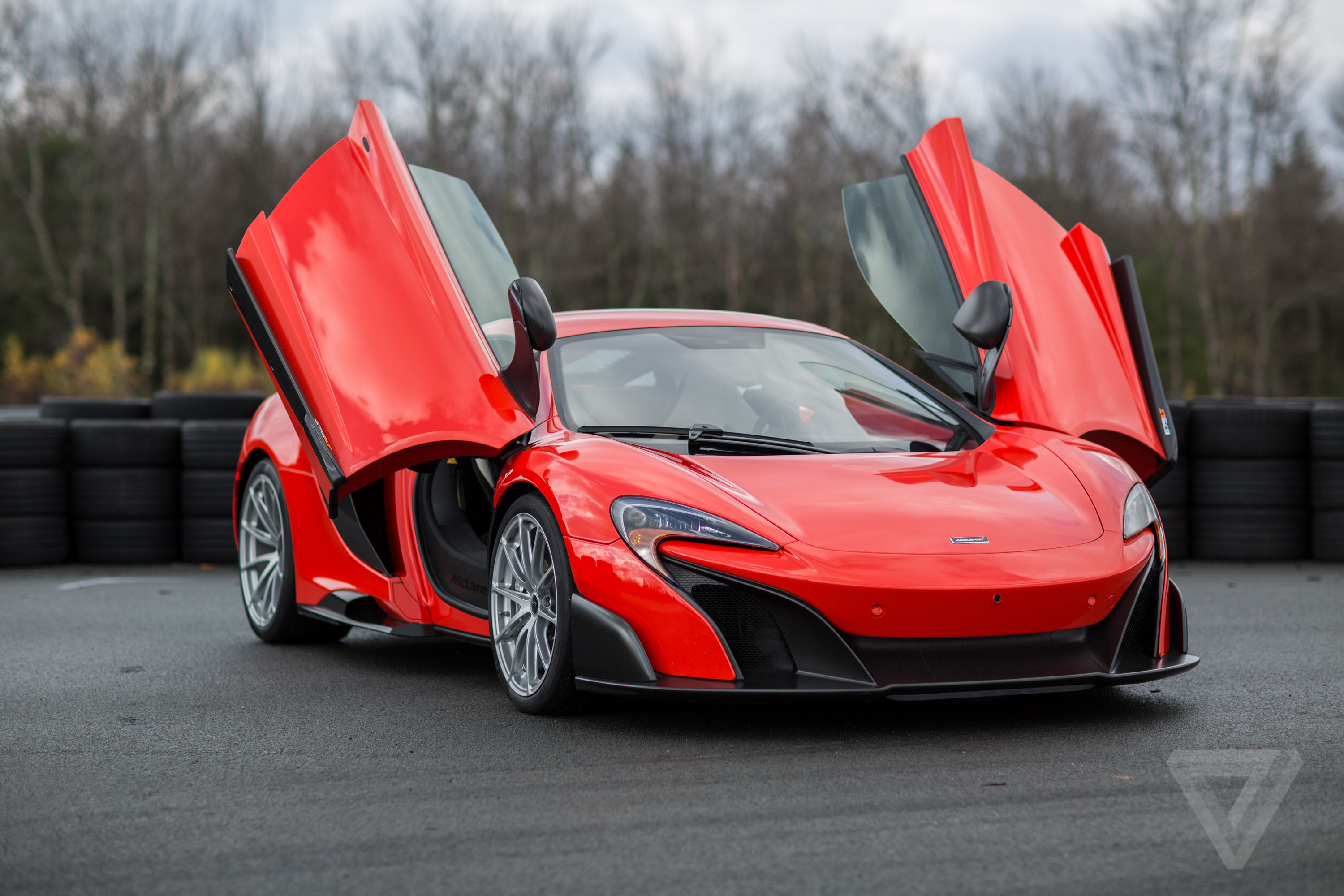 Mclaren S Perfect Supercar Tearing Up The Track In The