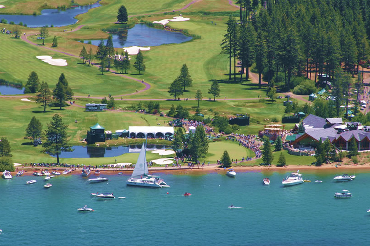 Celebrity golf tournament - Review of Harrah's Lake Tahoe ...