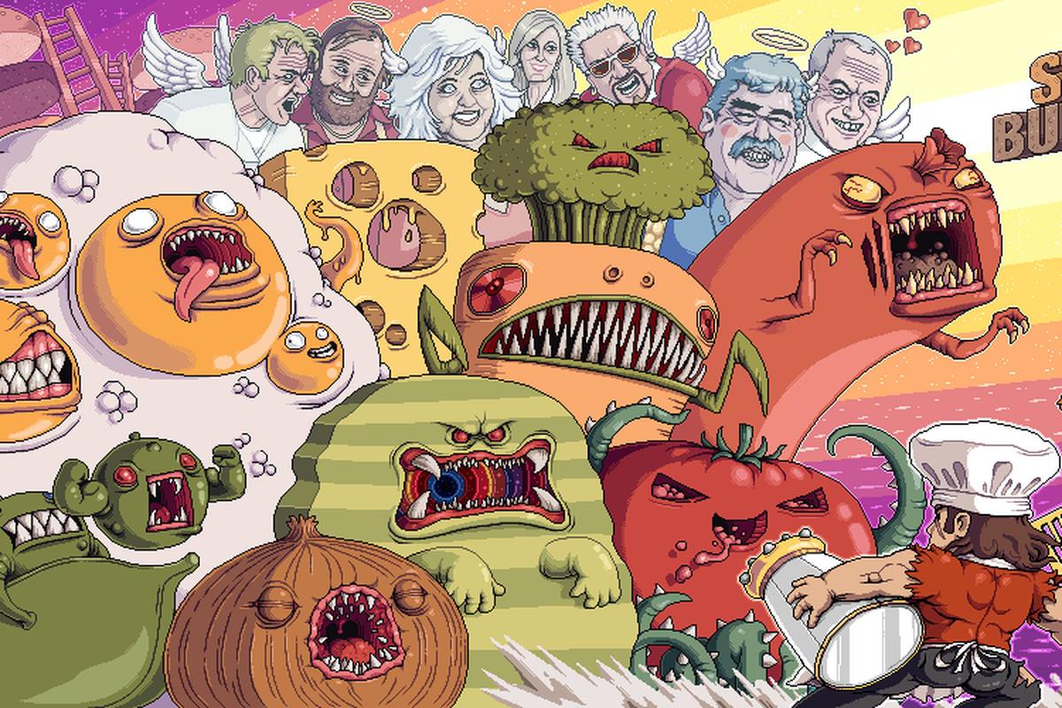 Paul Robertson - Super Burger Time