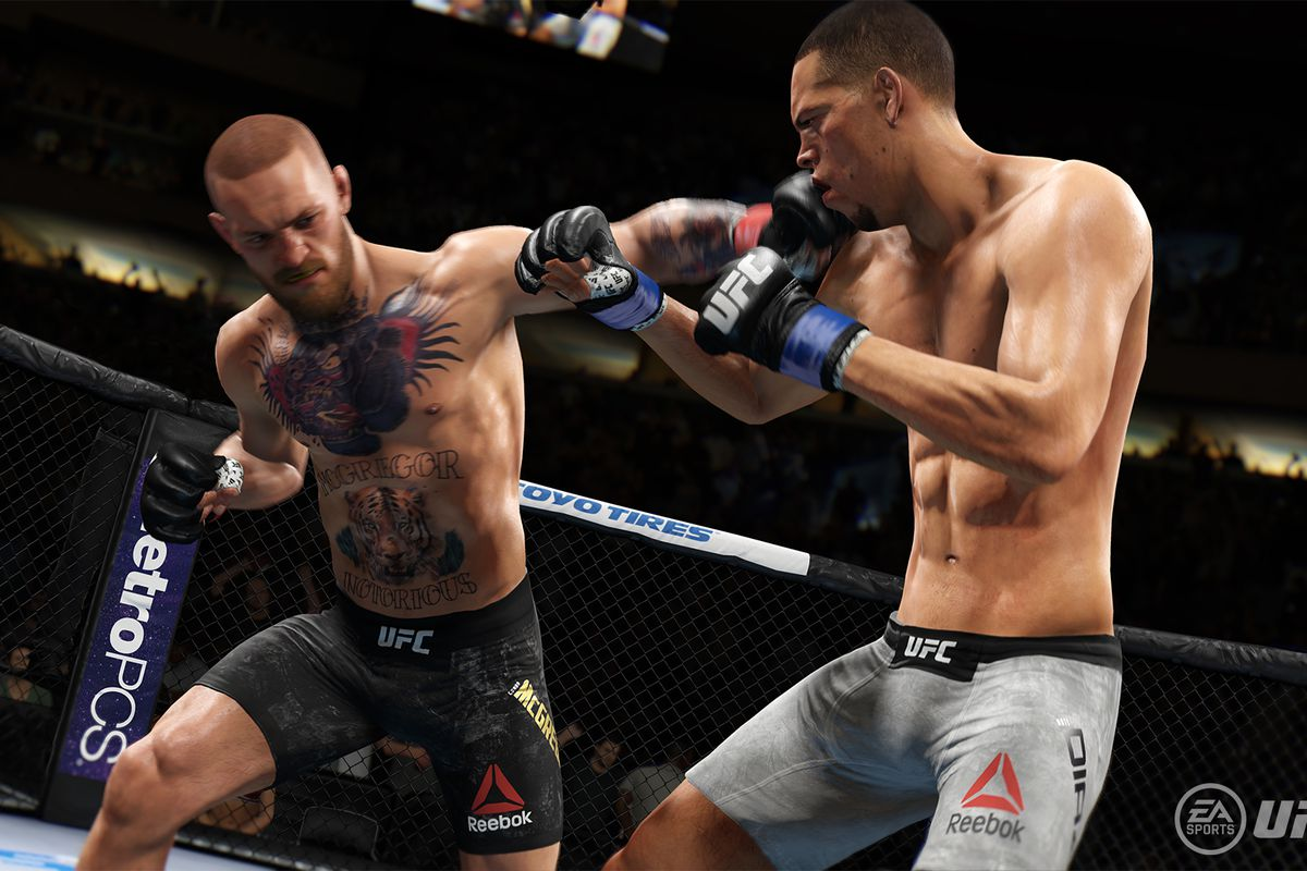 EA Sports UFC 3 fighter