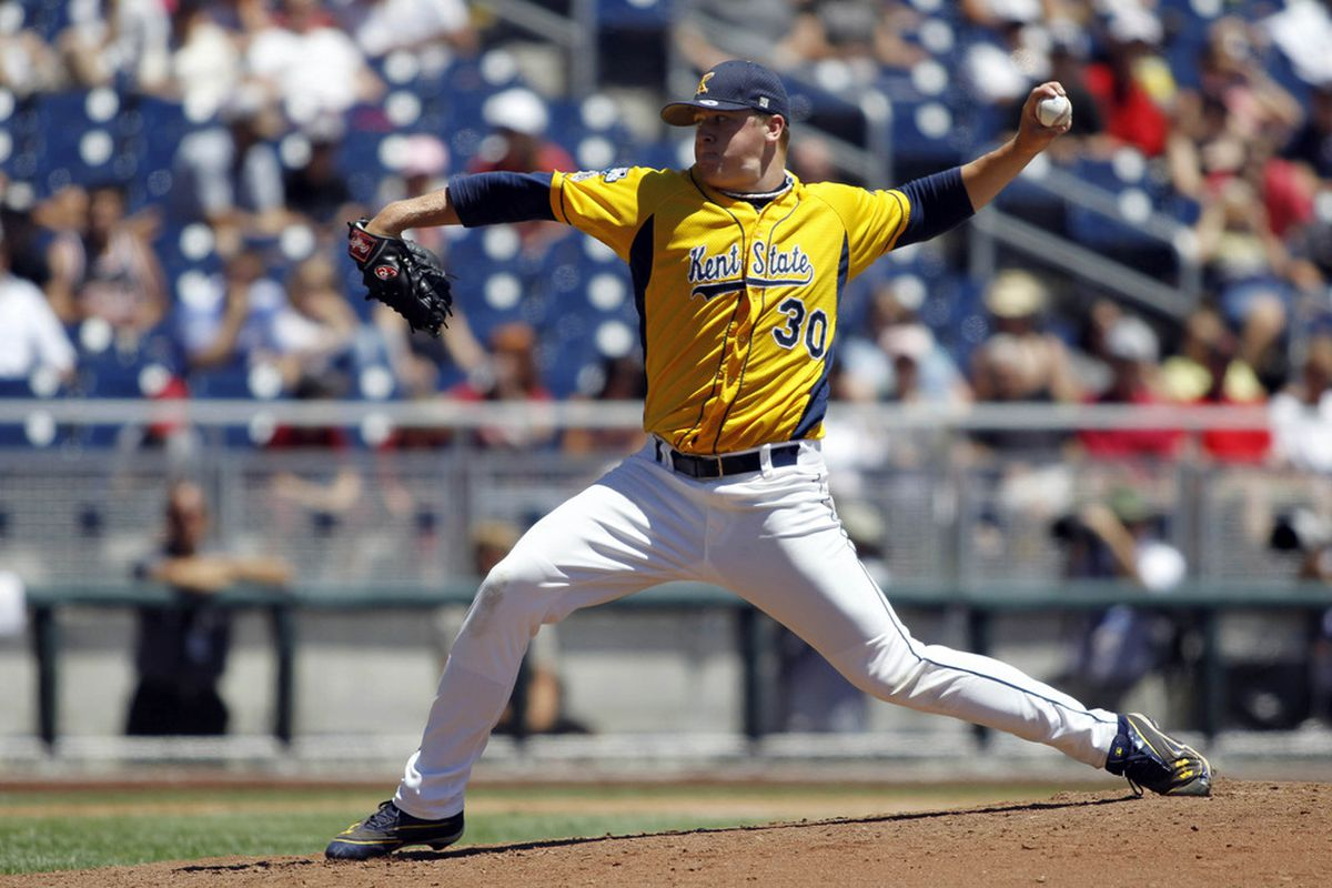 Brian Clark is back once again to hold down the Golden Flashes formidable bullpen.