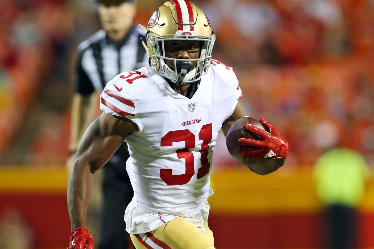 hot sale online 10479 68335 WATCH: Raheem Mostert's 87-yard touchdown for the 49ers ...