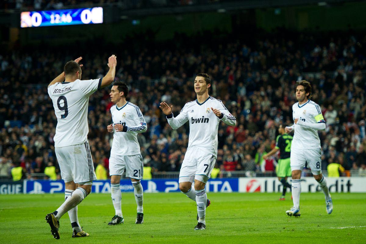 Ajax Vs Madrid: Real Madrid Vs. Ajax Amsterdam, UEFA Champions League 2012