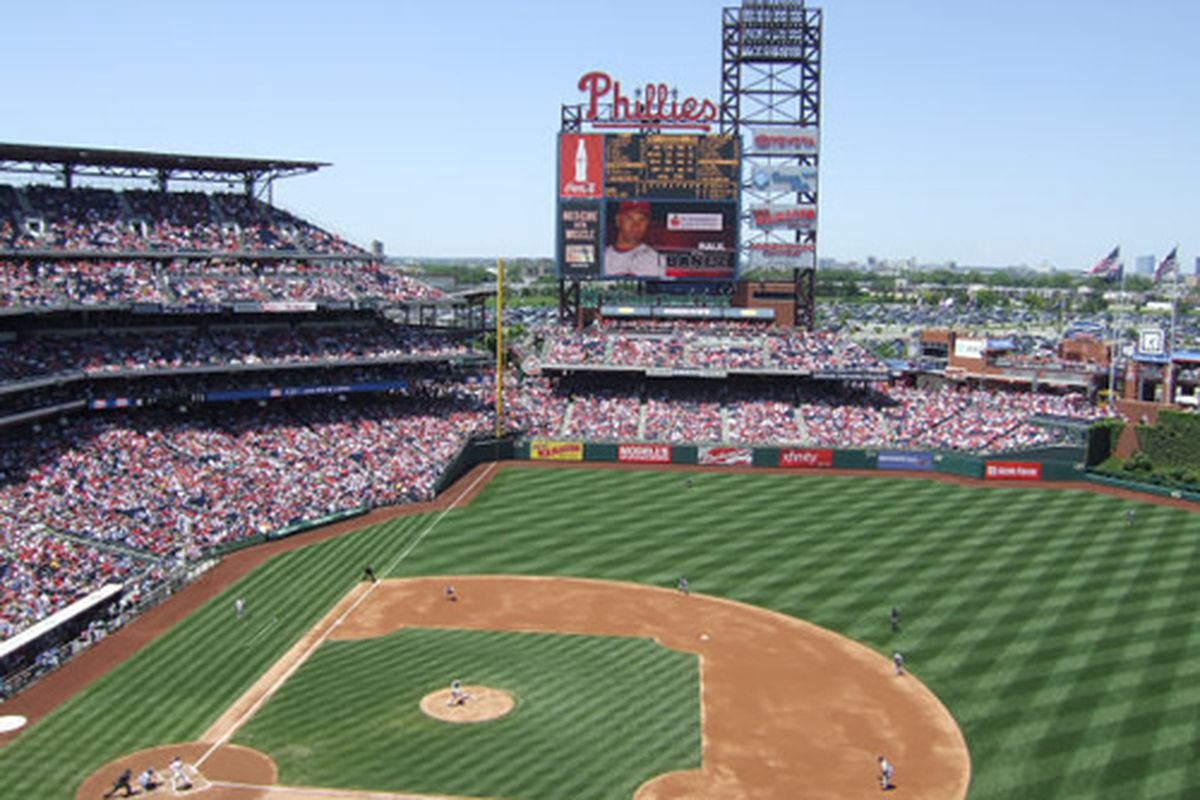 citizens bank park philadelphia map