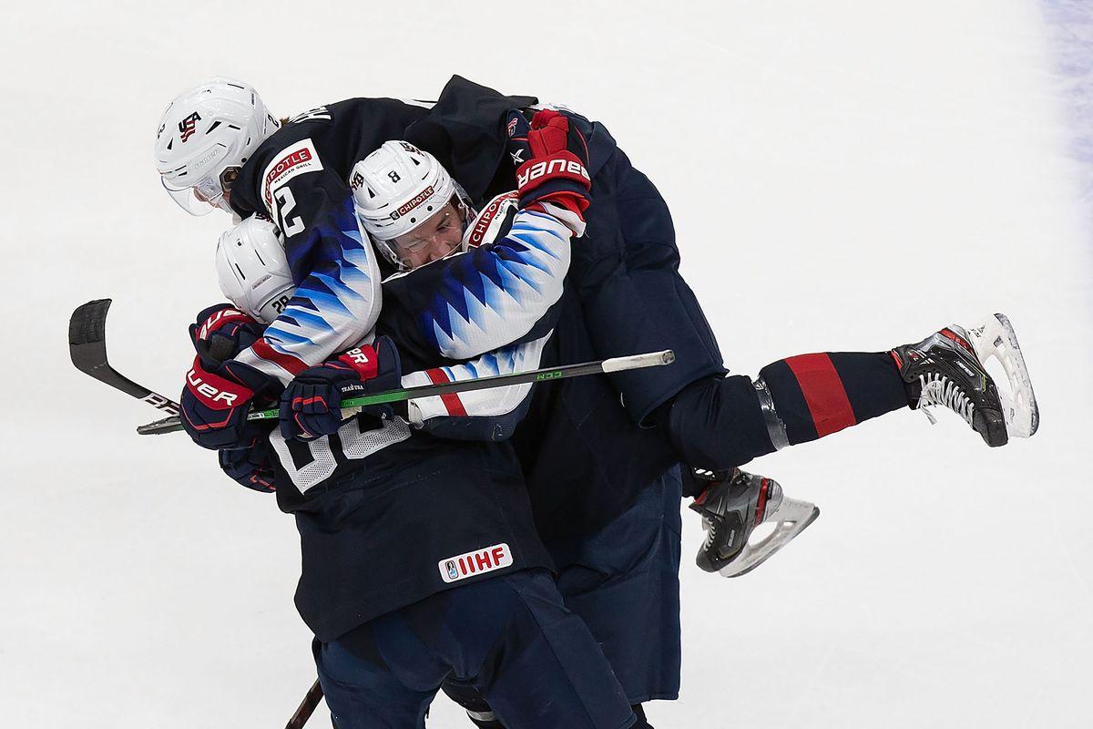 United States v Finland: Semifinals - 2021 IIHF World Junior Championship