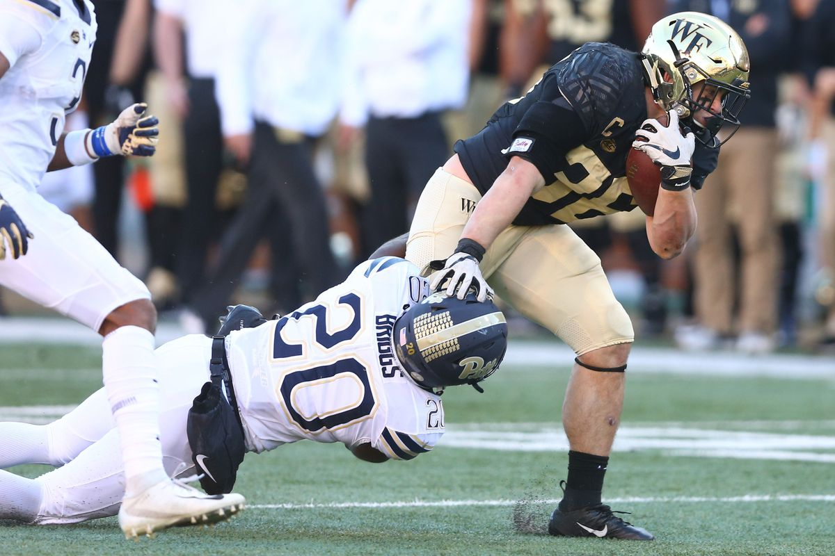 NCAA Football: Pittsburgh at Wake Forest