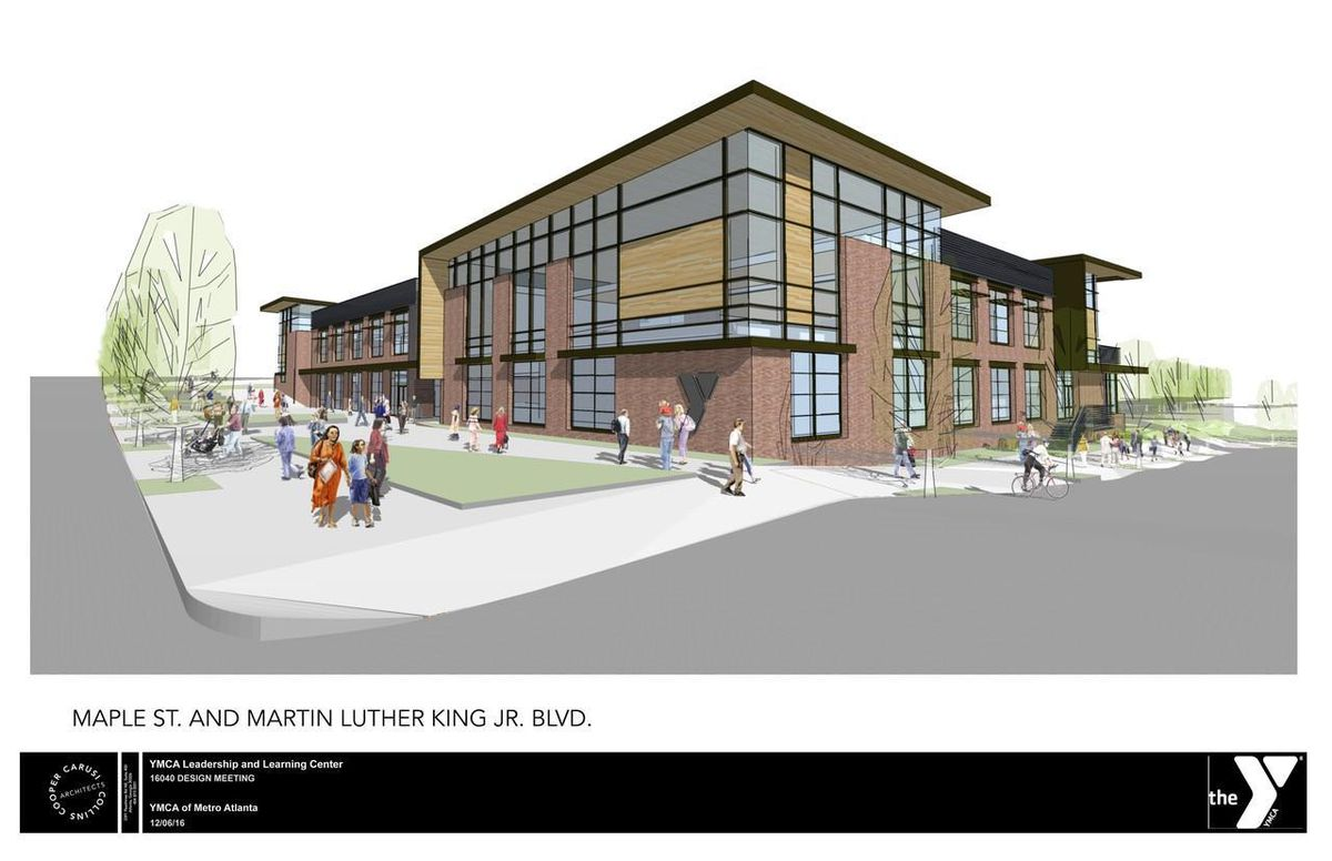 The design for YMCA's new headquarters.