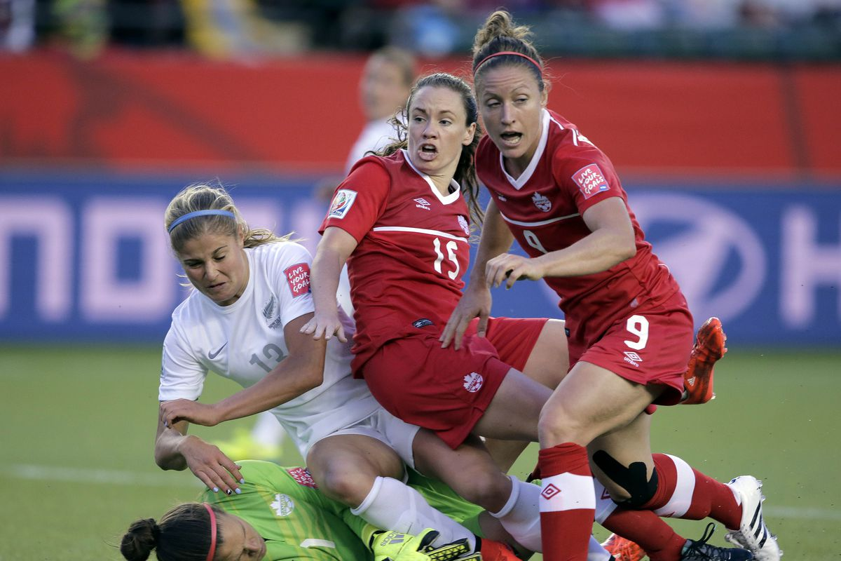 Soccer: Women's World Cup-Canada at New Zealand