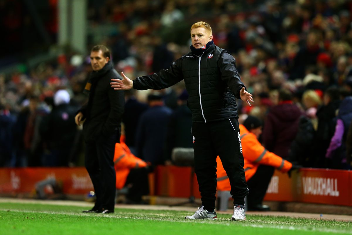 Bolton's form under Neil Lennon has fallen apart since securing a 0-0 draw at Liverpool