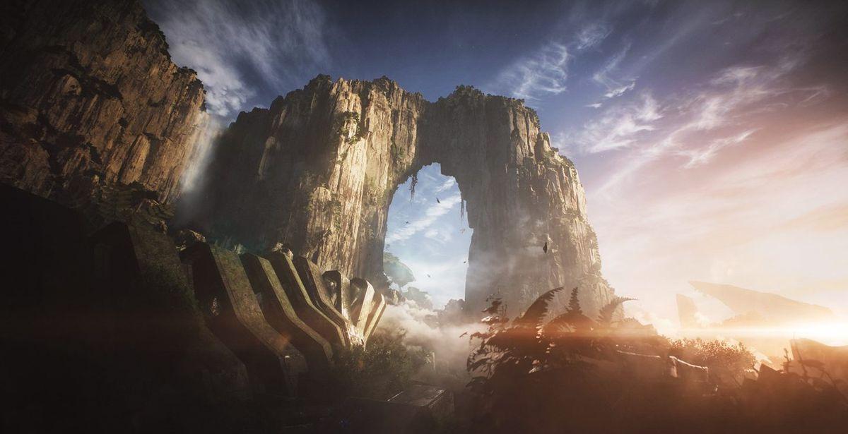Anthem - a rock arch