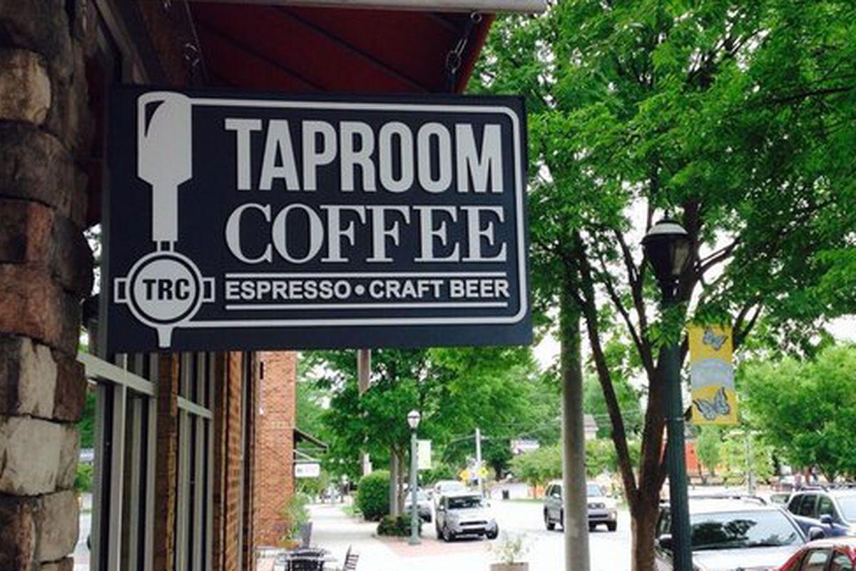 Taproom Coffee.