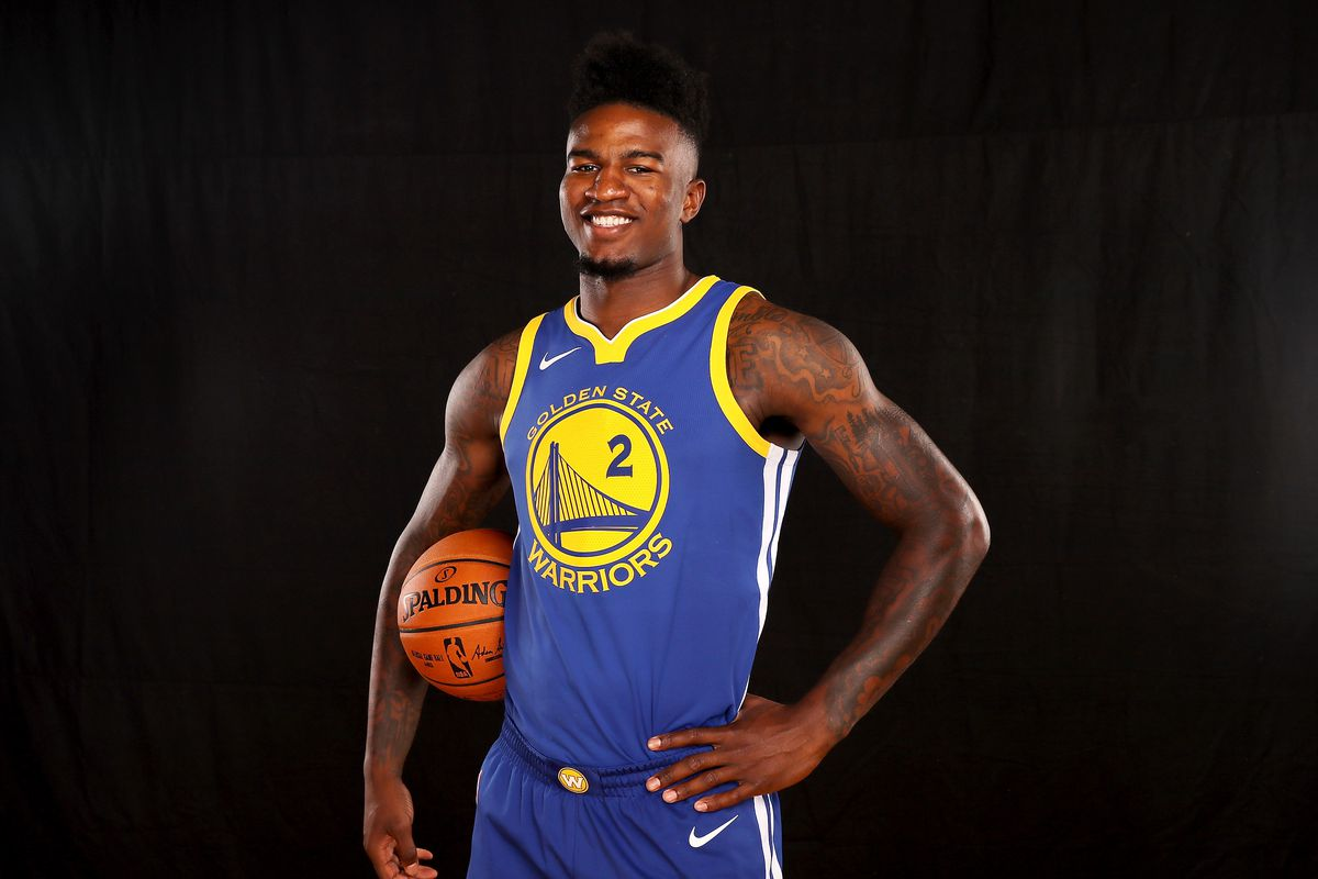 WATCH: Jordan Bell executes first NBA alley-oop with ...