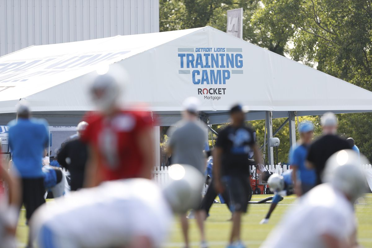 NFL: Detroit Lions-Training Camp