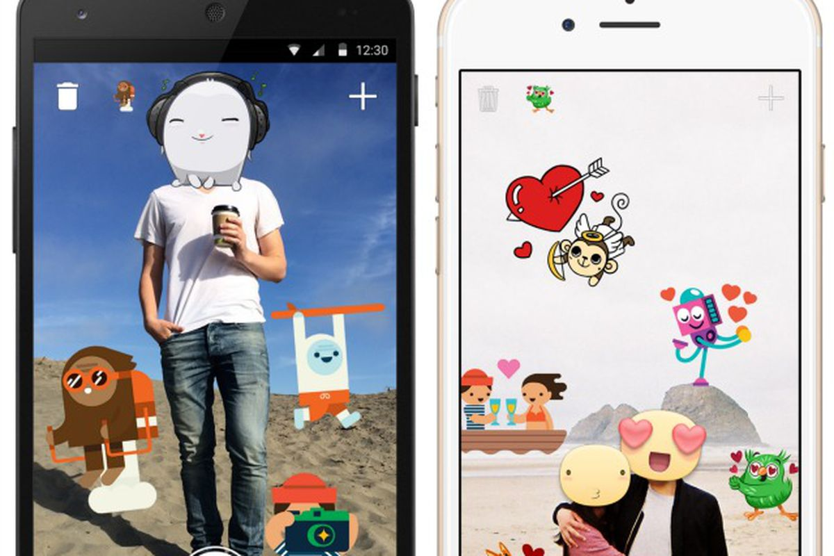 New Facebook App Lets You Put Stickers All Over Your Photos Vox