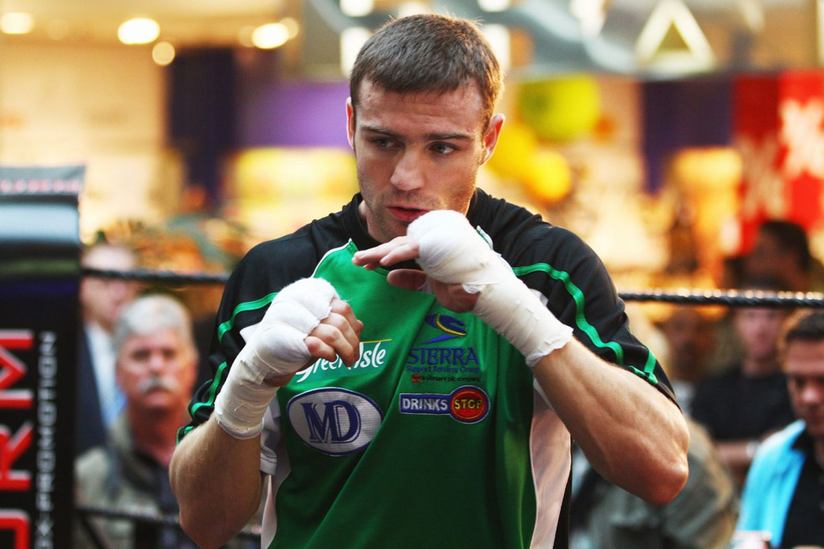 Matthew Macklin is coming to America to continue his career. (Photo by Alex Grimm/Bongarts/Getty Images)