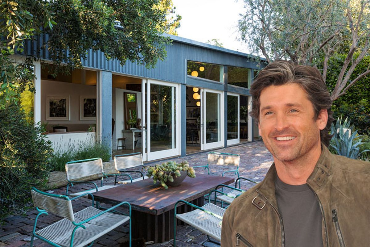 Patrick Dempsey Selling His Metal Clad Frank Gehry House In Malibu