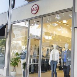 """Next, head over to AG Jeans' <a href=""""http://la.racked.com/archives/2014/02/13/yay_for_ucla_ag_jeans_westwood_popup_possibly_going_perm.php"""">pop-up store</a> (1029 Westwood Blvd), which is courting cash-strapped college students' wallets with denim deals"""