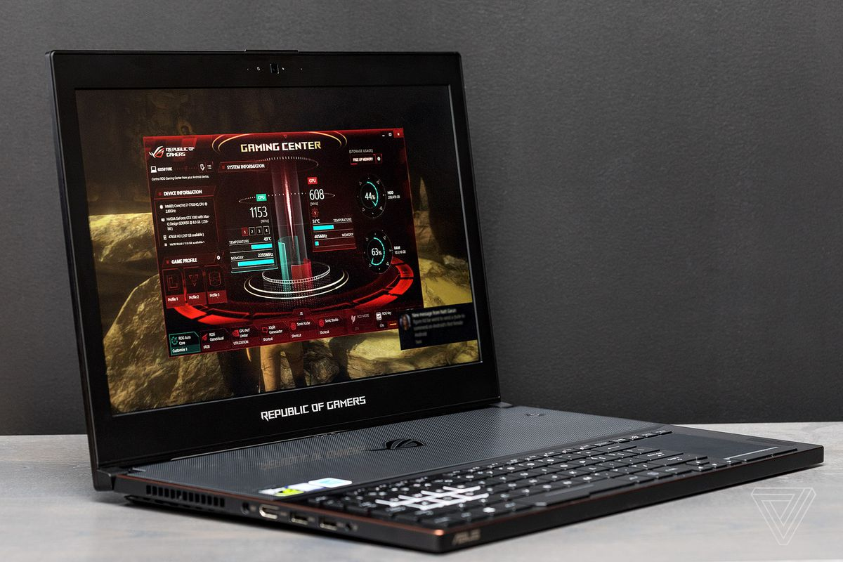 The Zephyrus is the laptop for someone who doesn't want a