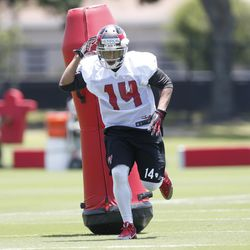 Herron slipped to the sixth round of the NFL draft, but he's expected to play a big role on offense for Tampa Bay.