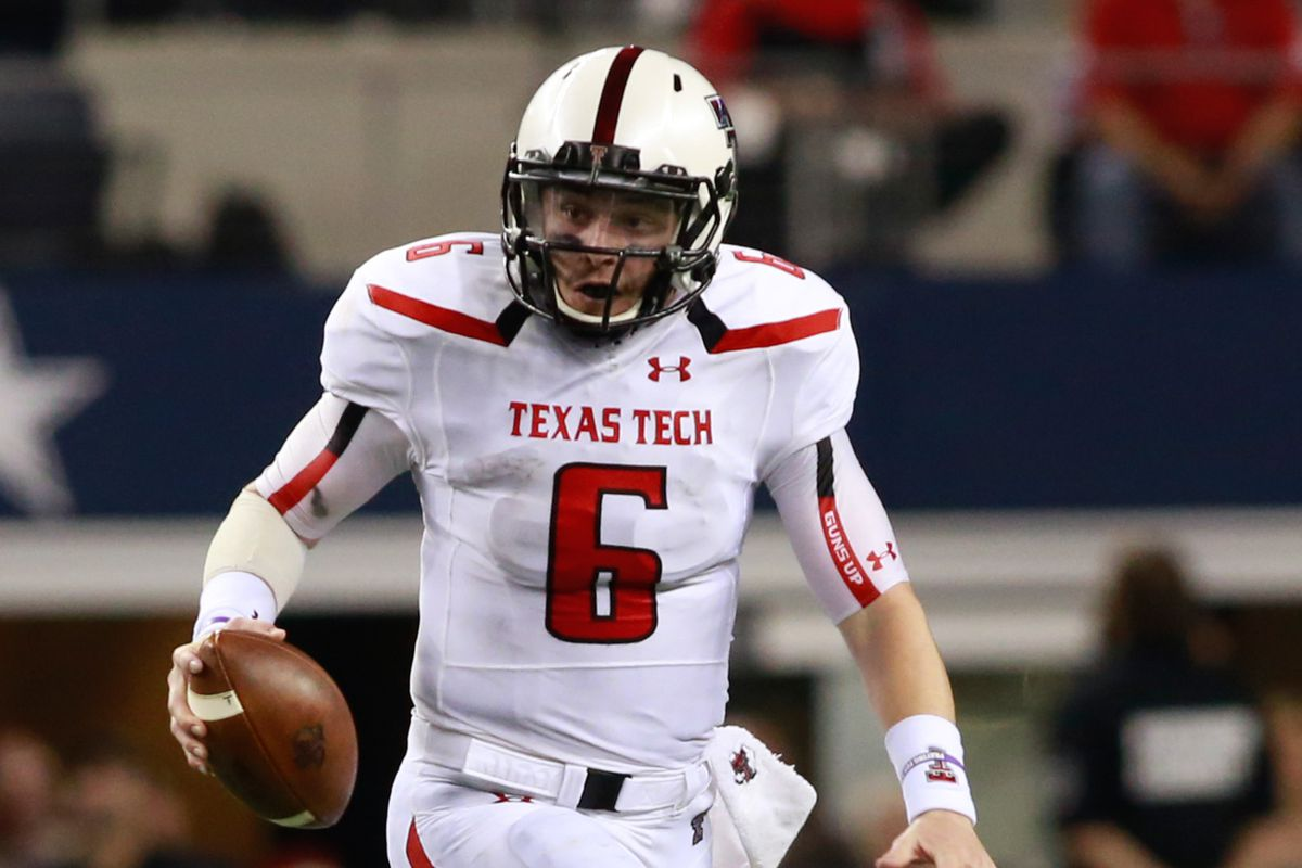 baker mayfield texas tech jersey
