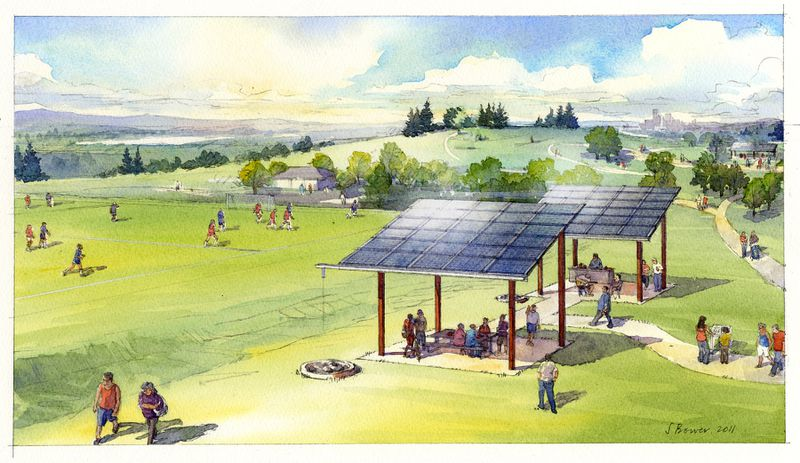 scl-beacon-hill-shared-solar-sketch Clean energy technologies threaten to overwhelm the grid. Here's how it can adapt.