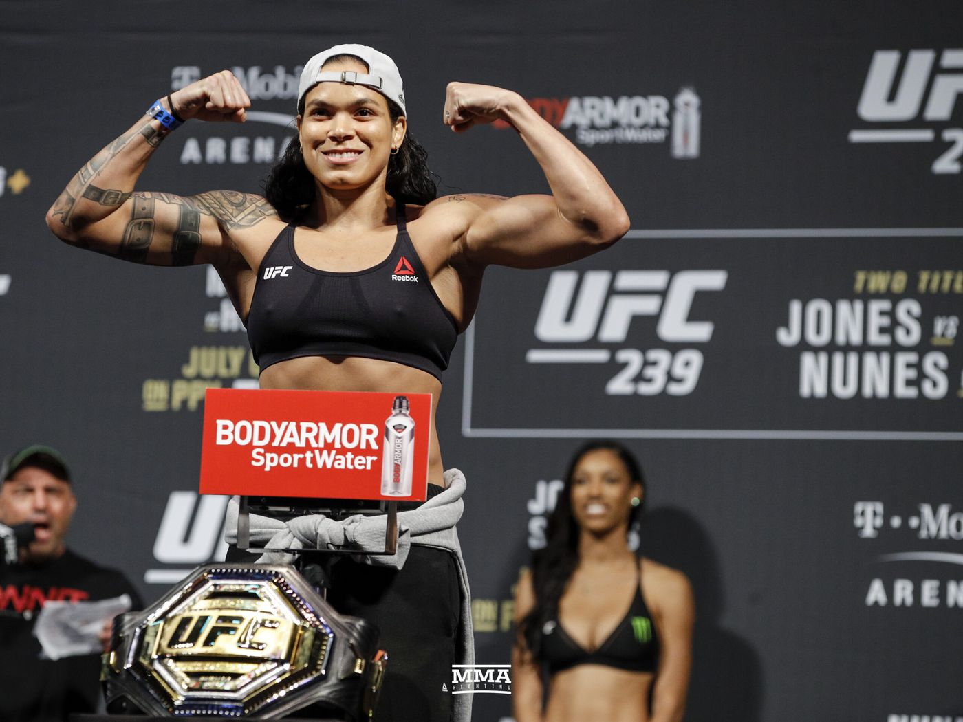 UFC 250 weigh-in results: Amanda Nunes, Felicia Spencer make weight for championship tilt - MMA Fighting