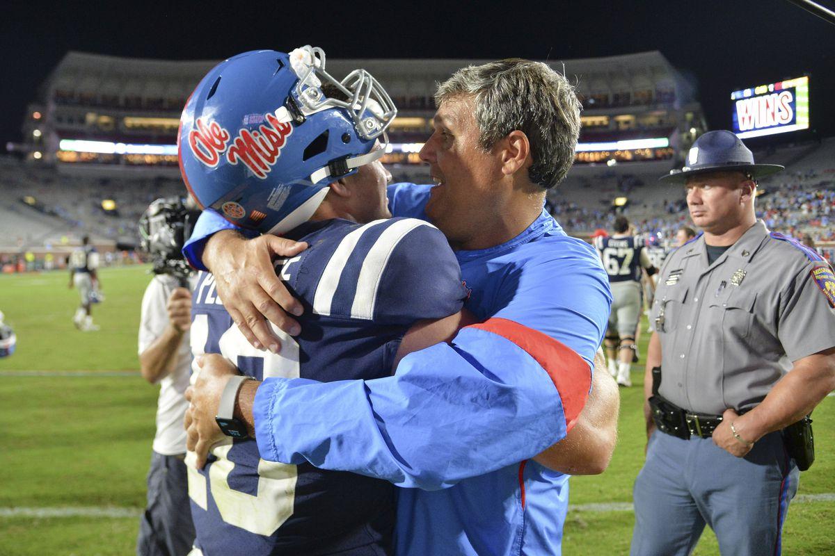 NCAA Football: Vanderbilt at Mississippi