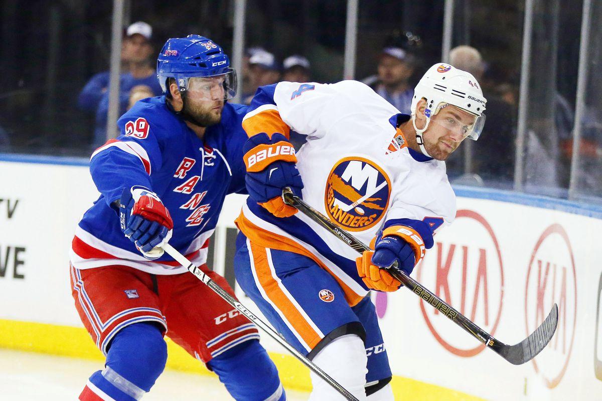 NHL: Preseason-New York Islanders at New York Rangers