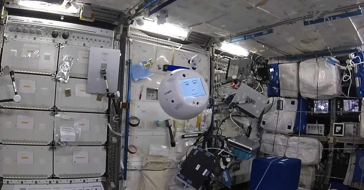 https://www.theverge.com/tldr/2018/12/2/18119889/cimon-iss-ai-robot-crew-member-video-hal-9000-esa-space