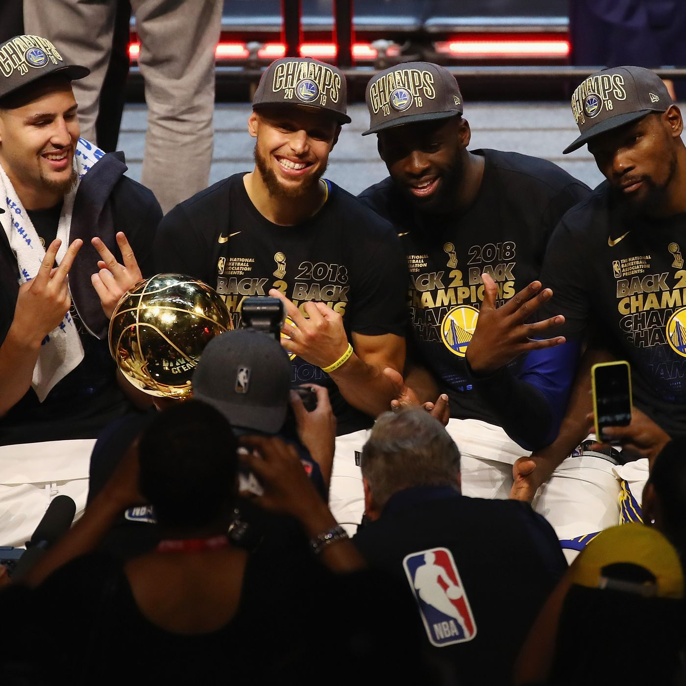 The Warriors Muted Celebration Was The Perfect End To A Dull Finals The Ringer