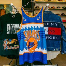Nike Sharks jersey, $198