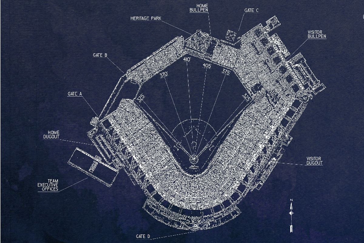 Ballpark blueprints jacobs field lets go tribe ballpark blueprints malvernweather Gallery