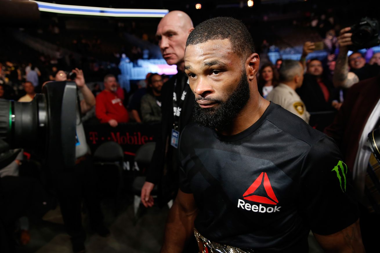 community news, Tyron Woodley threatens to retire Demian Maia at UFC 214