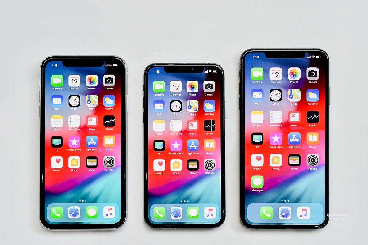 Iphone Xs Vs Max Xr How To Pick Between Apples Three New Apple 7 Plus 256gb Inter And Photo By Nilay Patel The Verge