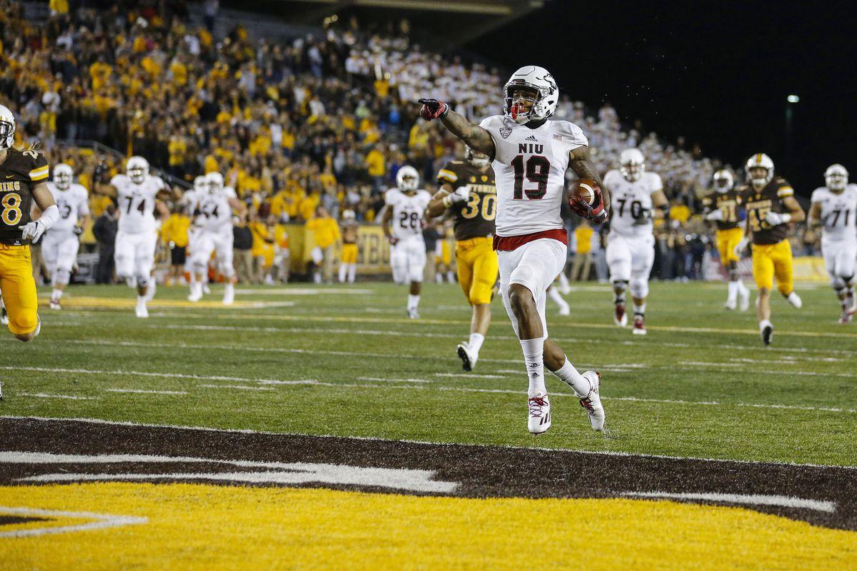 NCAA Football: Northern Illinois at Wyoming